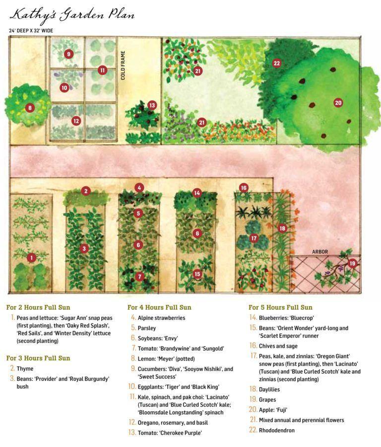 Vegetable Garden Plans, Designs + Layout Ideas | Family ...