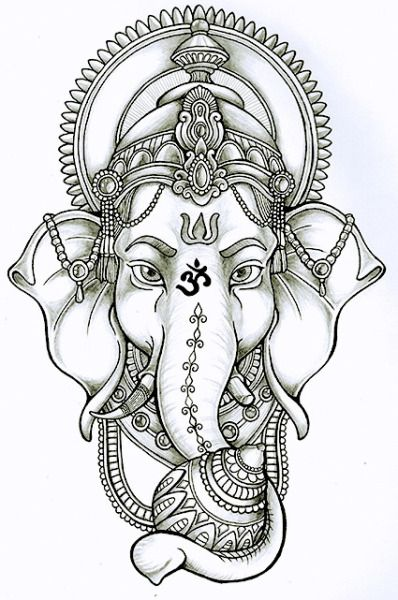Remover Of Obstacles | Para colorear | Pinterest | Tattoos, Ganesha ...
