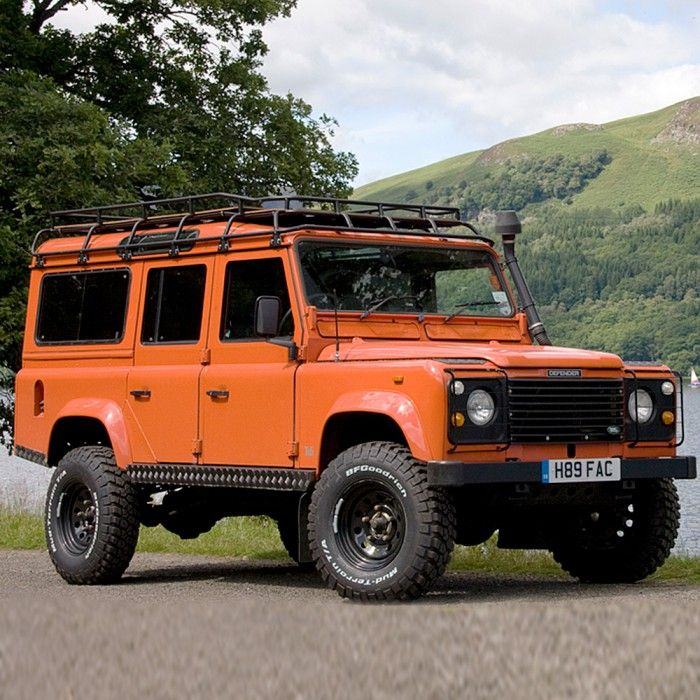Defender 110 Expedition Roof Rack