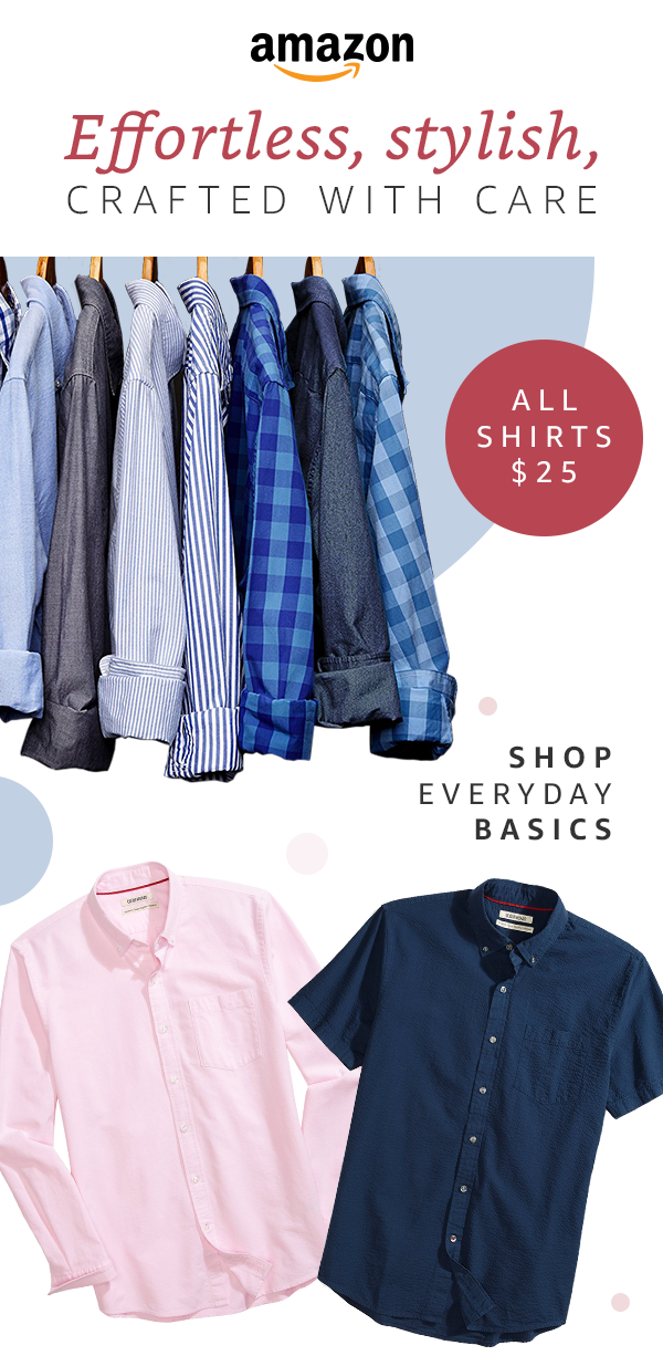 e527744810e Effortless, stylish, and crafted with care. The only basic s you ll ever  need starting at just  25. With these classics, Goodthreads is your go-to  for ...