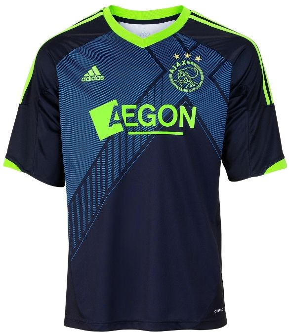 ae11bdd338e 12 13 cheap Ajax Away Soccer Jersey Shirt