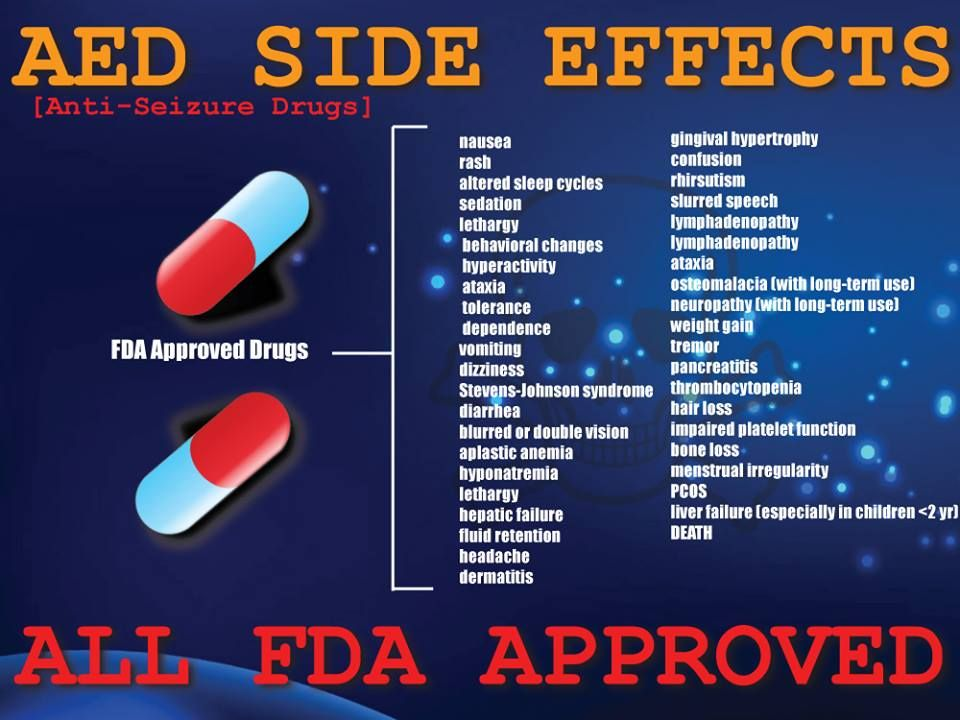 Aed Side Effects All Fda Approved Epilepsy Pinterest