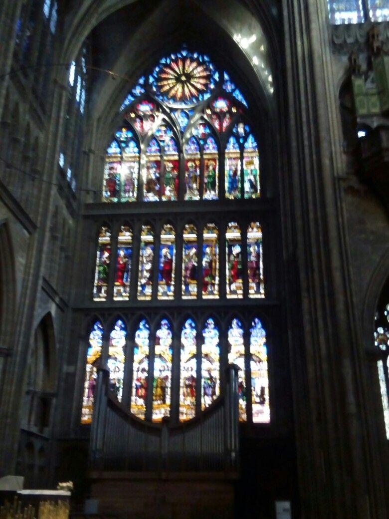 Vitraux Metz vitraux cathédrale de metz france | vitraux | pinterest