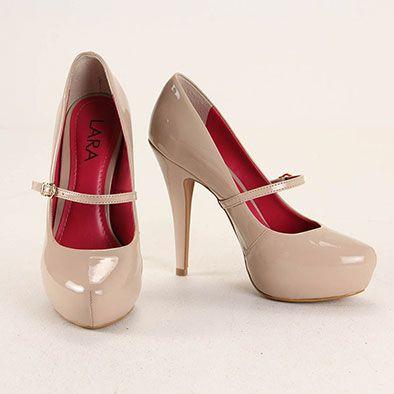 473f498b9 Sapato Boneca Feminino Lara - Nude