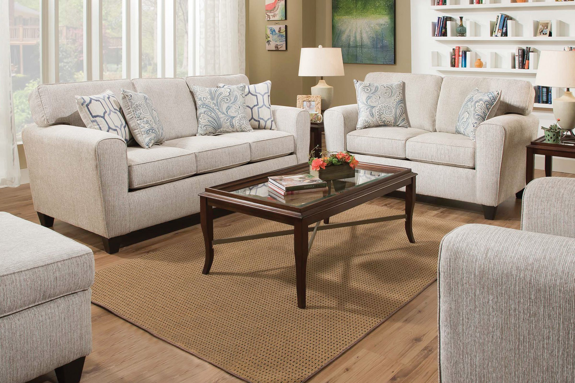 Uptown Storage Ottoman In 2020 Living Room Designs White Living Room Set Furniture