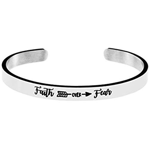 Vegan Babe Hand Stamped Cuff Bracelets for Women Plant Based Funny Jewelry Under 20 Dollars Traveler