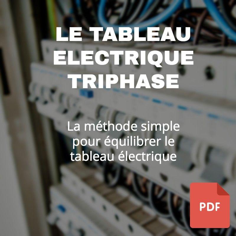 Dimensionner Le Tableau Electrique Triphase Realisez Votre Installation Electrique V Tableau Electrique Triphase Tableau Electrique Maison Tableau Electrique