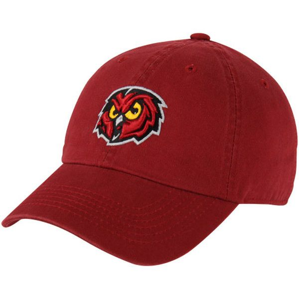 859d33a8f91 Top of the World Temple Owls Crew Adjustable Hat - Cherry