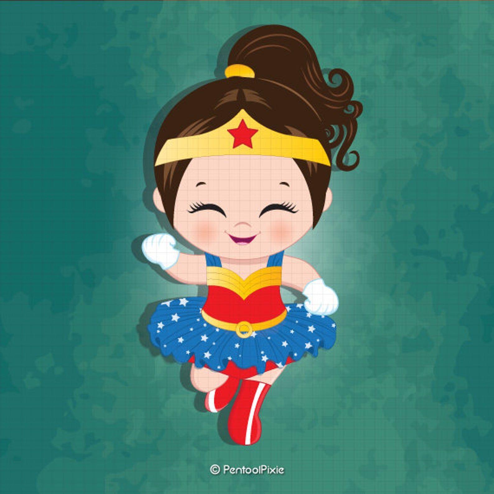 Wonder Woman Baby Girl Clipart Superhero Baby Girl Clipart Etsy In 2020 Baby Girl Clipart Girl Clipart Girl Superhero