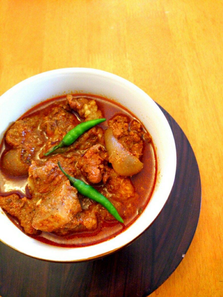 Mangalorean Style Pork Curry Pork Bafat Pork Curry