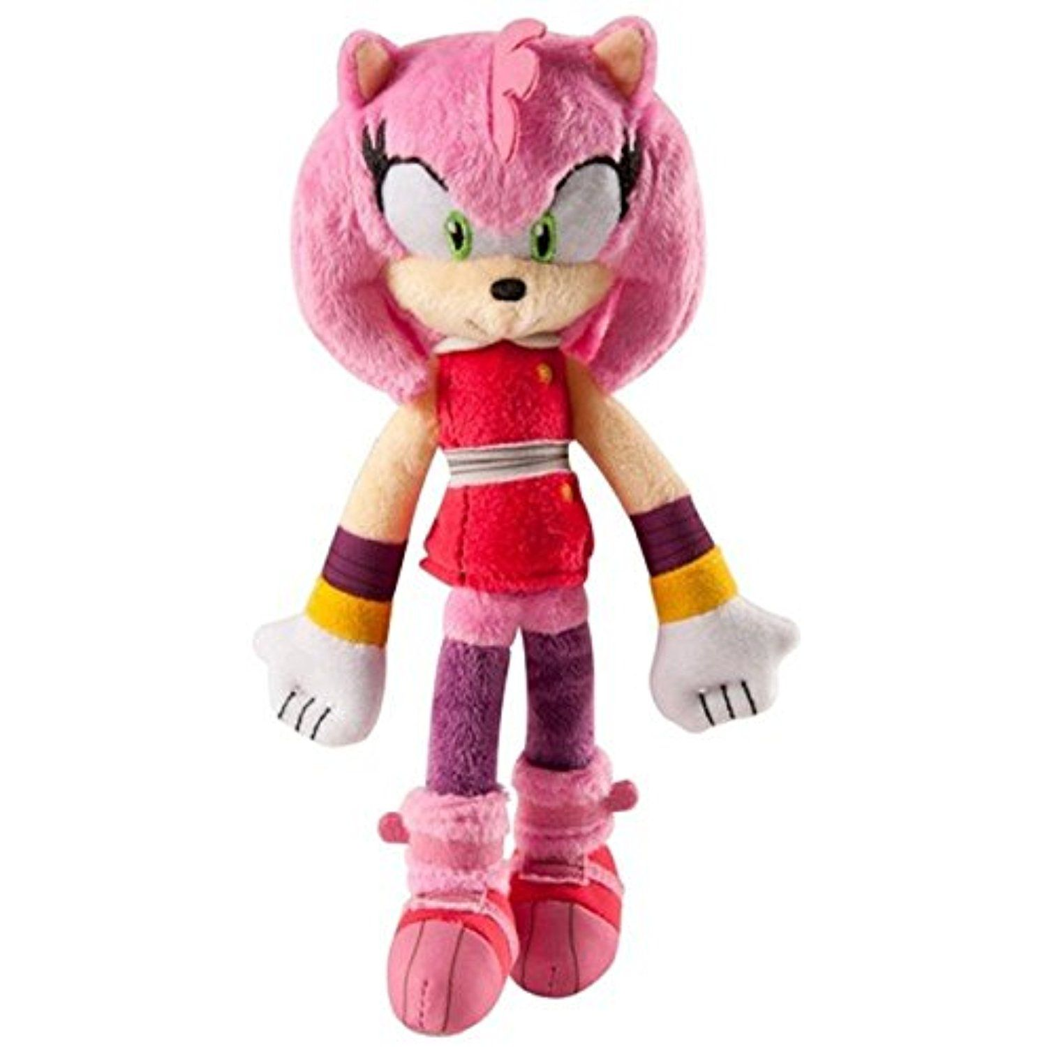 Toys Games Sonic The Hedgehog Sonic Boom Amy Rose Head Plush Soft Kids Toy Toys Games Tv Movie Character Toys