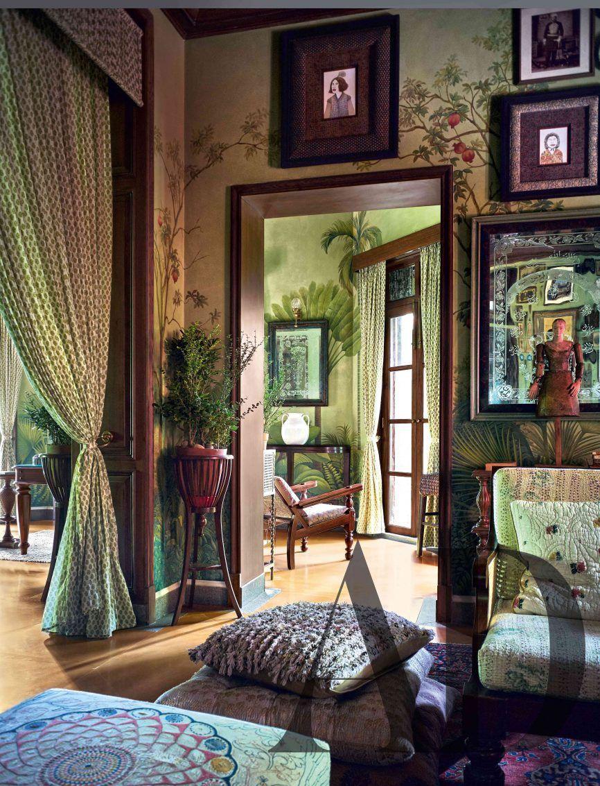 Inside Sabyasachi Kolkata Home Home Indian Homes Home Decor