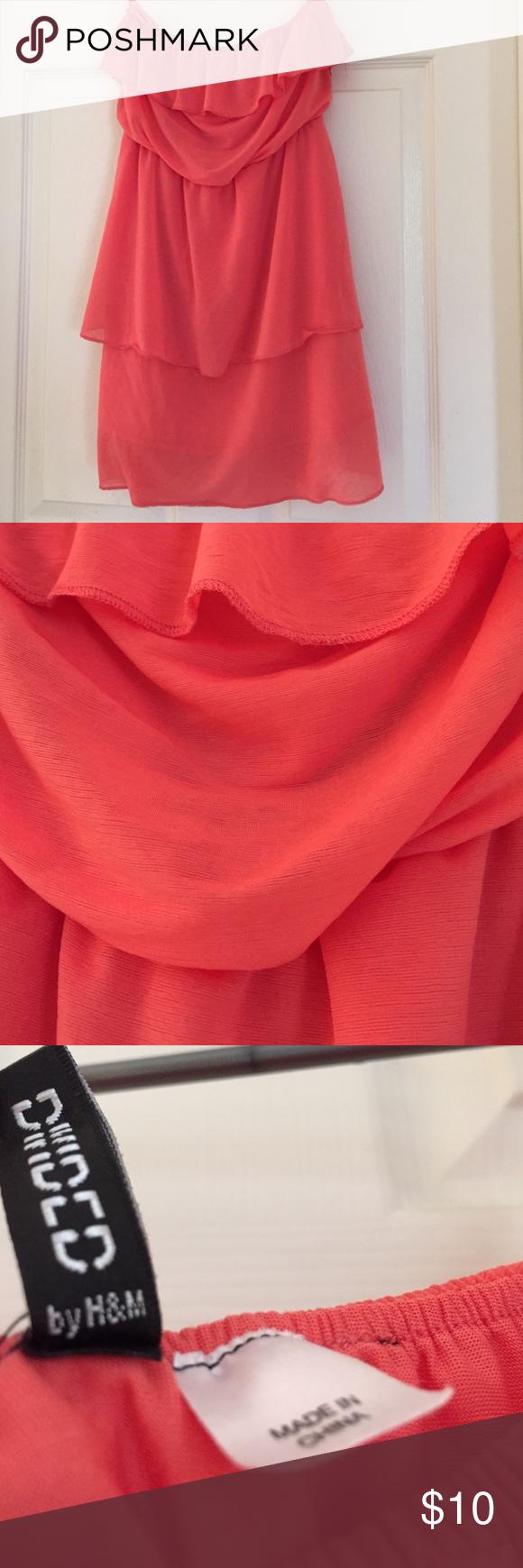 Pink casual dress Pink staples dress H&M Dresses