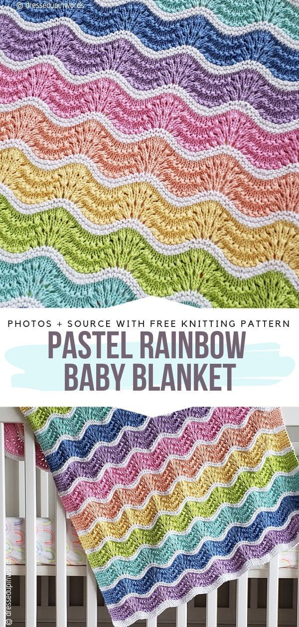 Knitted Baby Blankets Free Patterns