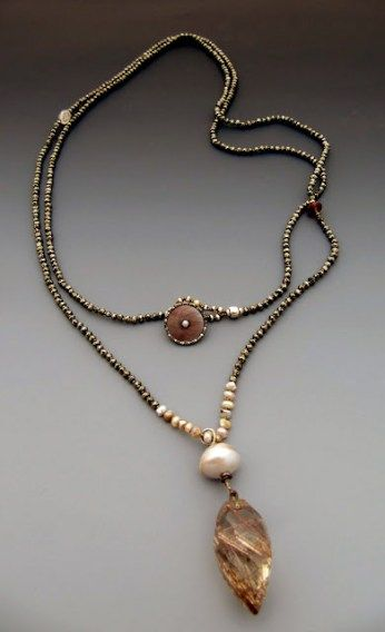 Photo of Easy Pieces: Lucia Antonelli: Jewelry: Pearls, Beads, Semi Precious Stones
