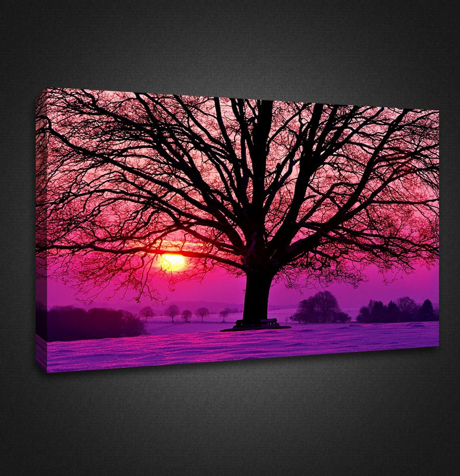 Bon Tree Wall Artwork   Bing Images · Canvas Picture WallsCanvas PicturesPurple  ...