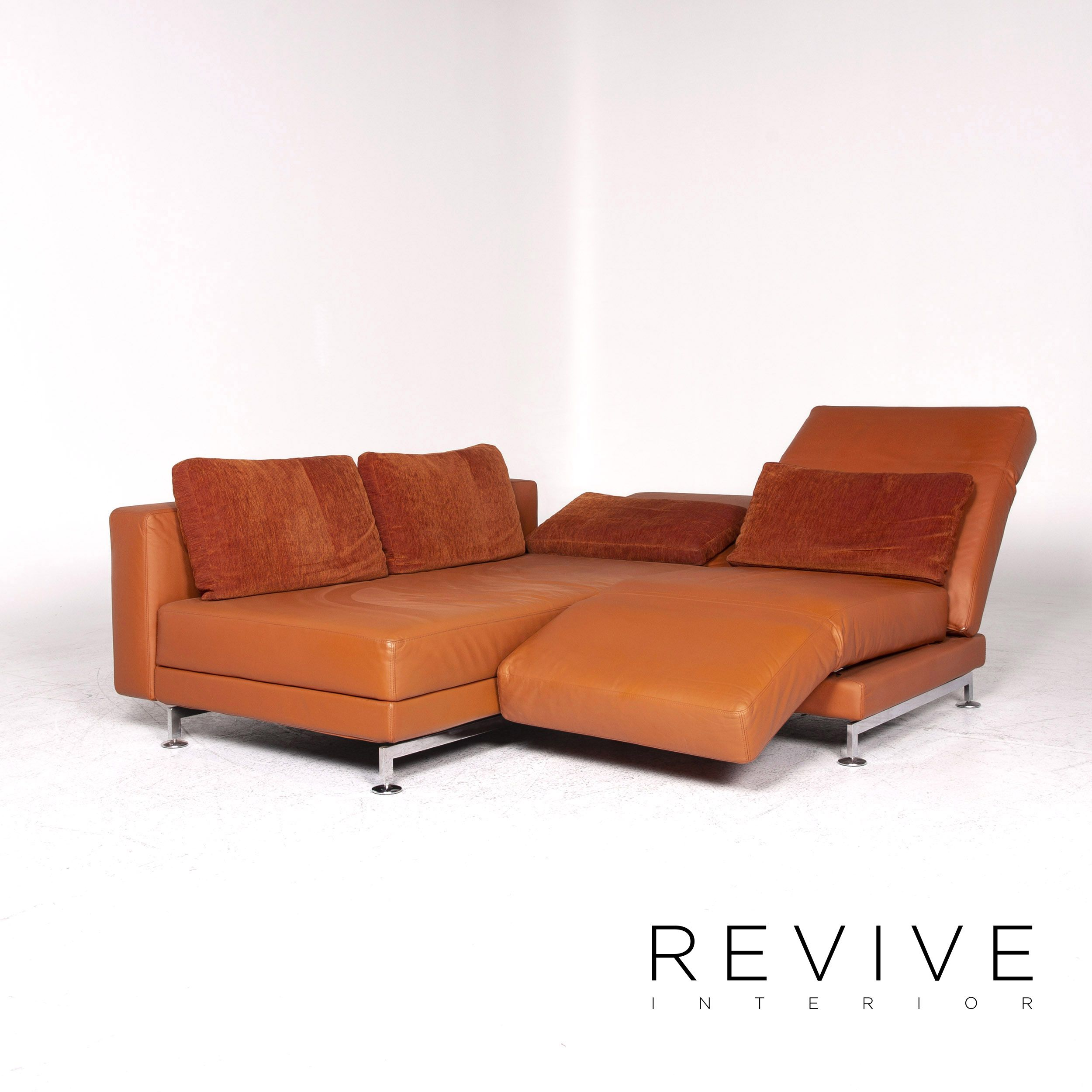 Bruhl Sippold Moule Designer Sofa Garnitur Orange Ecksofa Hocker Funktion 8996 Sofa Sessel Gebraucht Kaufen Sofa Design Bruhl Sofa Und Gebrauchte Mobel