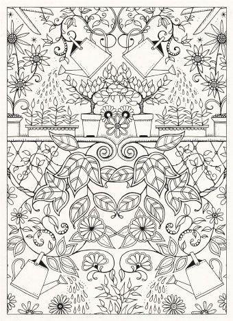 Secret Garden 20 Postcards By Johanna Basford