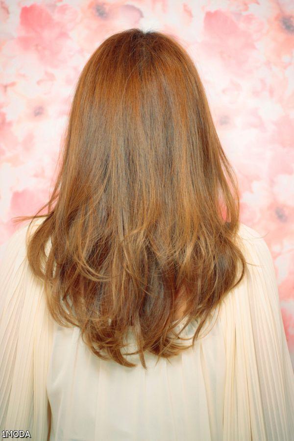 medium v layered haircuts back view 20152016 myfashiony