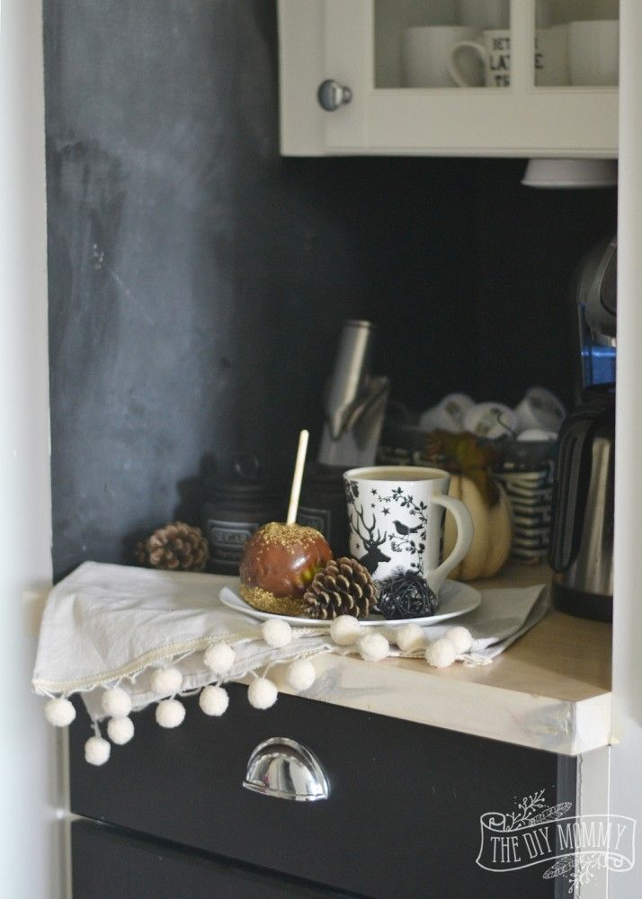 Adventures In Decorating Our 2015 Fall Kitchen: Fall 2015 Home Tour: Simple Woodland-Inspired Country