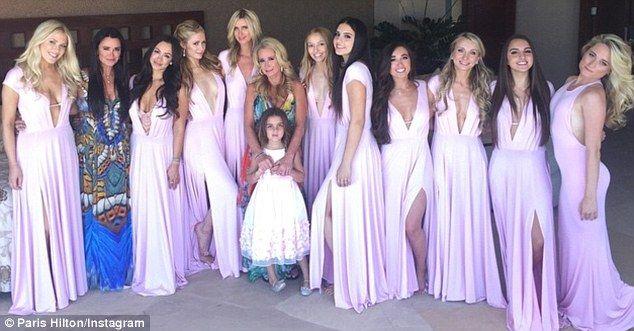 Nicky Hilton Wedding Hochzeit Brautjungfern