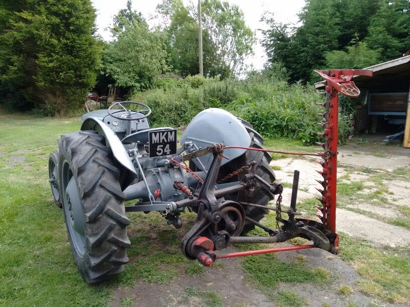 1950 Ferguson TEA 20 with Ferguson finger-bar mower  | Exclusive