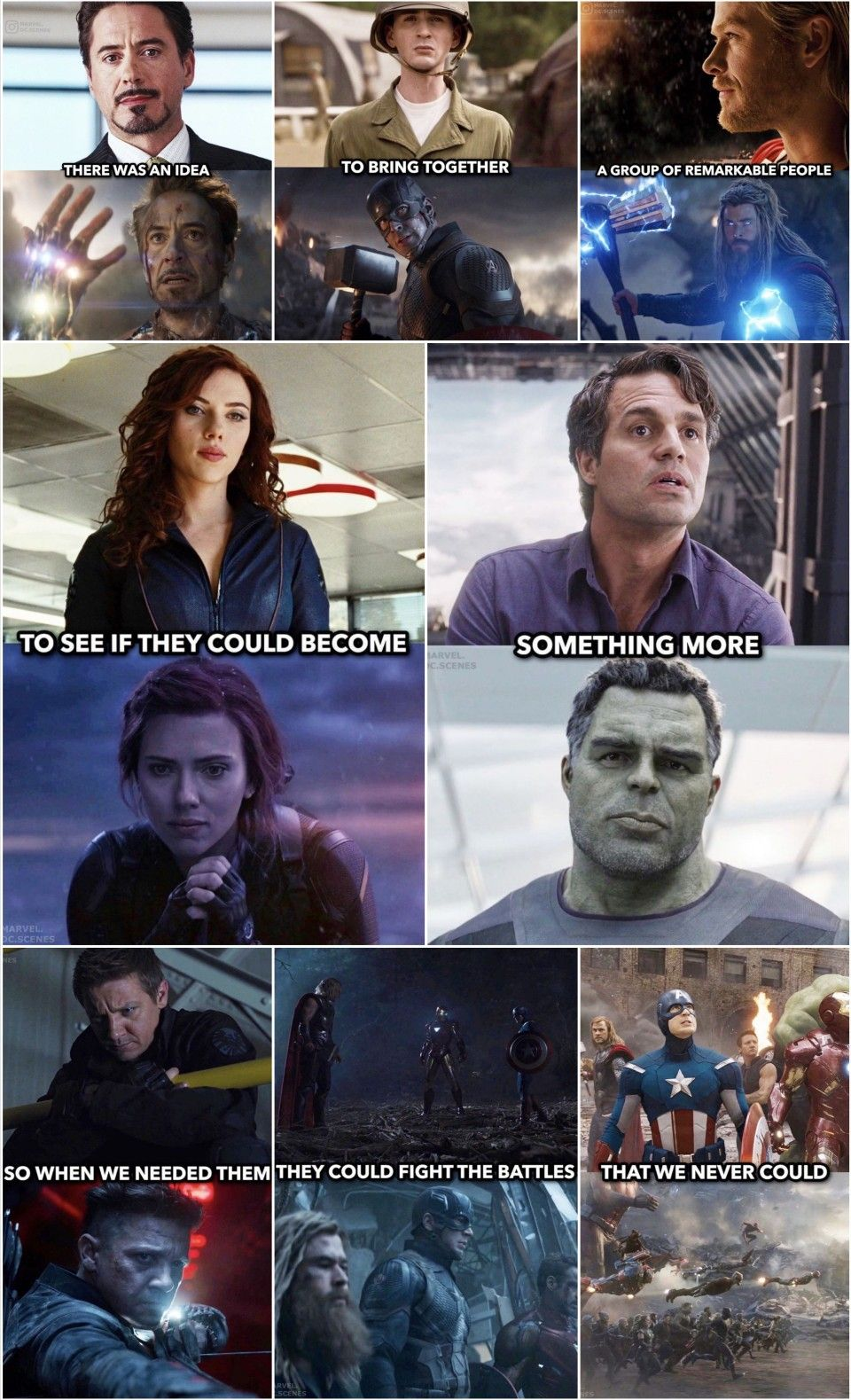 The Avengers Endgame Theoriginalsix Marvel Quotes Marvel Superheroes Avengers Funny