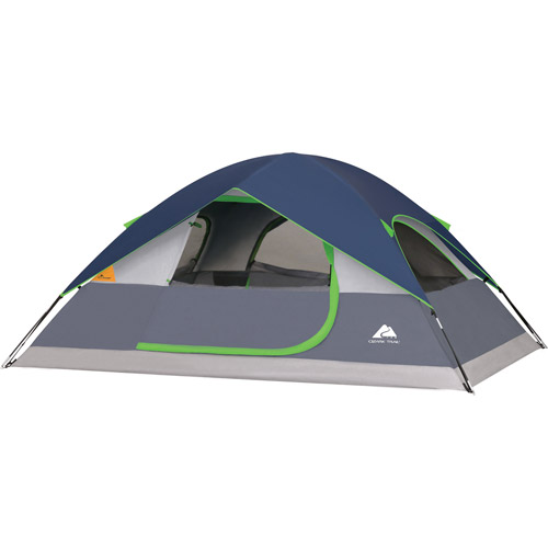 Walmart Ozark Trail 4 Person Dome Tent Tent Dome Tent 4 Person Camping Tent