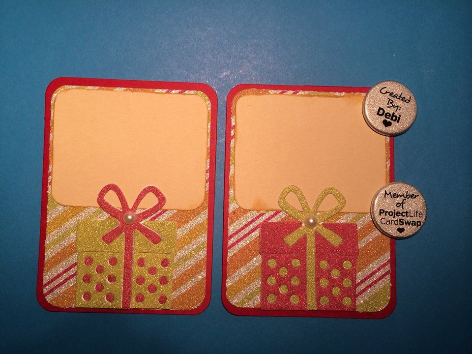 Just Journal Holiday Card #projectlifecardswap #christmas #homemadeprojectlife #christmaspresents #journalcards