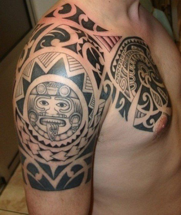 mod les de tatouage homme maori tatouages bras pinterest mod le de tatouage. Black Bedroom Furniture Sets. Home Design Ideas