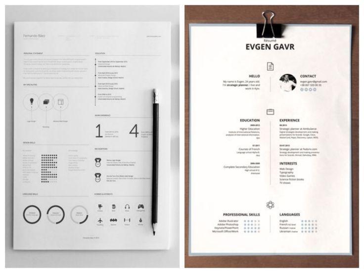 10 Nouveaux Cv Graphiques En Telechargement Gratuit Typo Design Cv Cover Letter Typo Logo