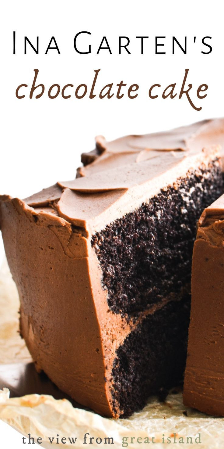 Ina gartens chocolate cake recipe in 2020 ina garten