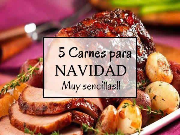 Carnes para navidad salud y bienestar recetas para - Cocina navidena espanola ...