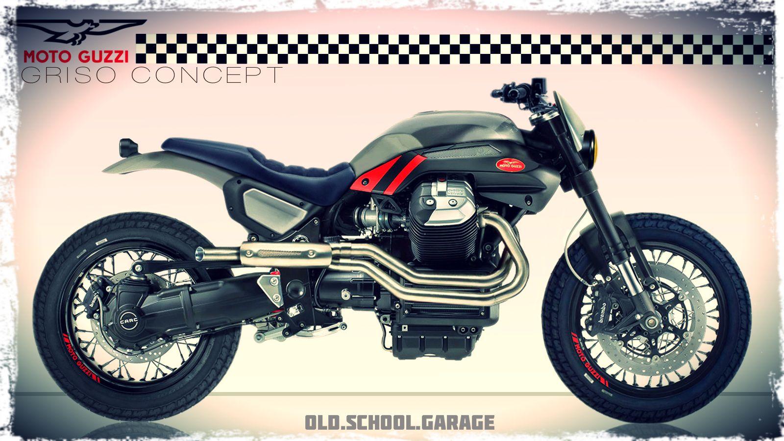 moto guzzi griso special concept bike cafe racer. Black Bedroom Furniture Sets. Home Design Ideas