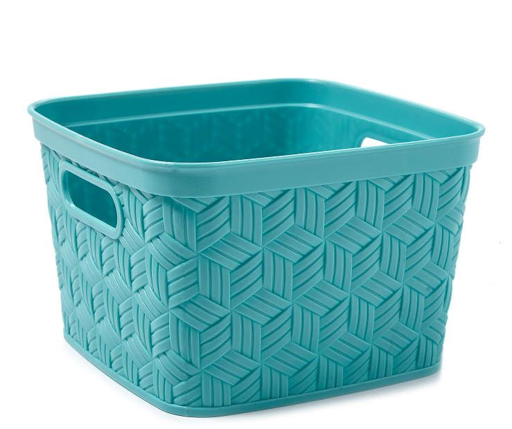 NEW PLASTIC HANDY BASKETS ORGANIZER STORAGE TIDY FOR SCHOOLS//OFFICES ITEM CHOICE