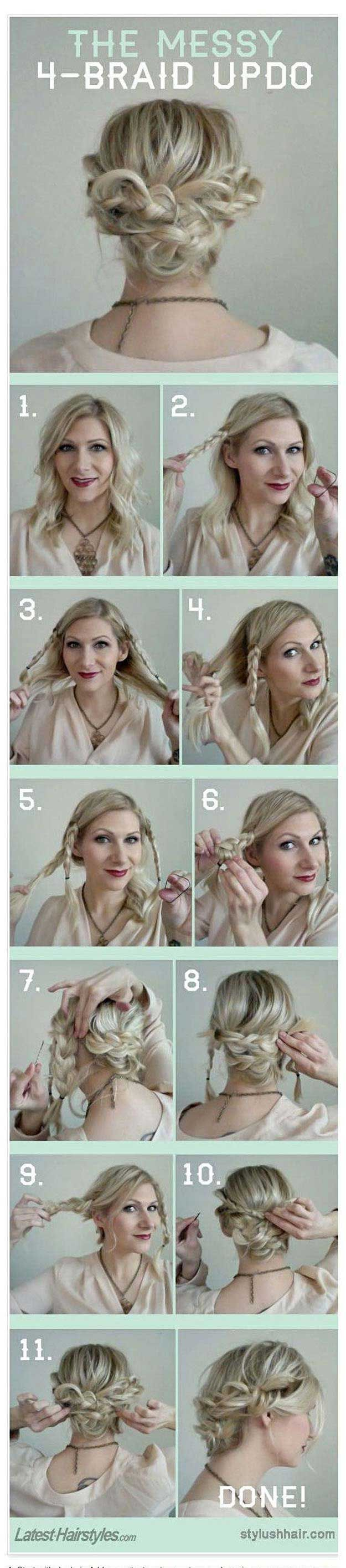 Quick and easy hairstyles for school best hairstyles for summer