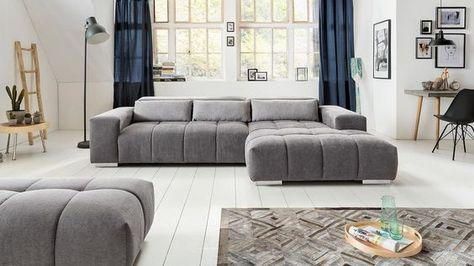 ecksofa aksis wohnlandschaft sofa polstersofa in stone grau 308 - Eckschlafsofa Die Praktischen Sofa Fur Ihren Komfort