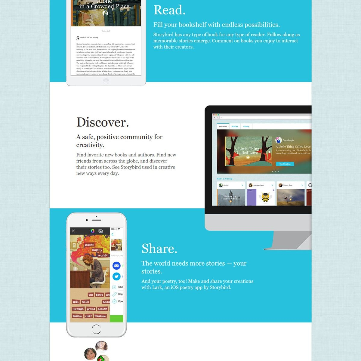 Popular Alternatives to Storybird for Web, Android