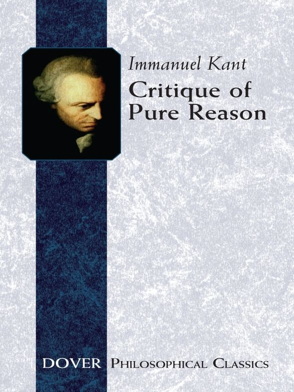 critique of pure reason 3 essay Critique of pure reason  3 speculative   special criticism section, with 8 essays and books evaluating kant's contribution to philosophy.