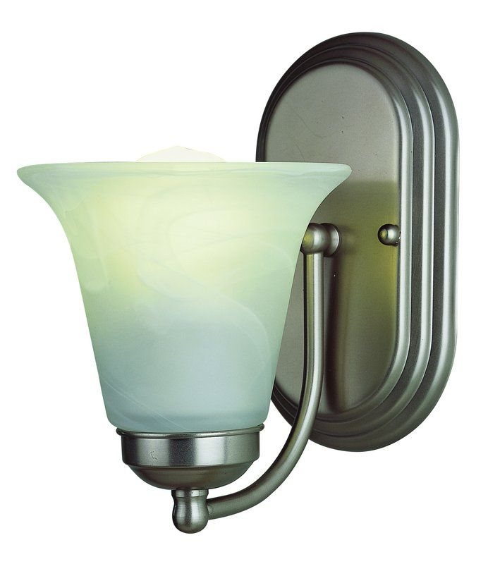 Photo of Trans Globe Lighting 3501 ROB Rubbed Oil Bronze Single Light Energy Star Bathroom Light – LightingDirect.com