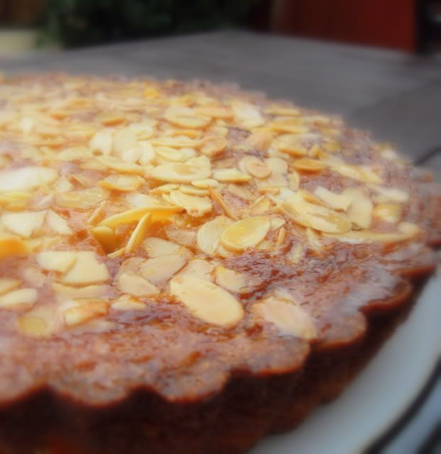 Almond and Orange Syrup Cake