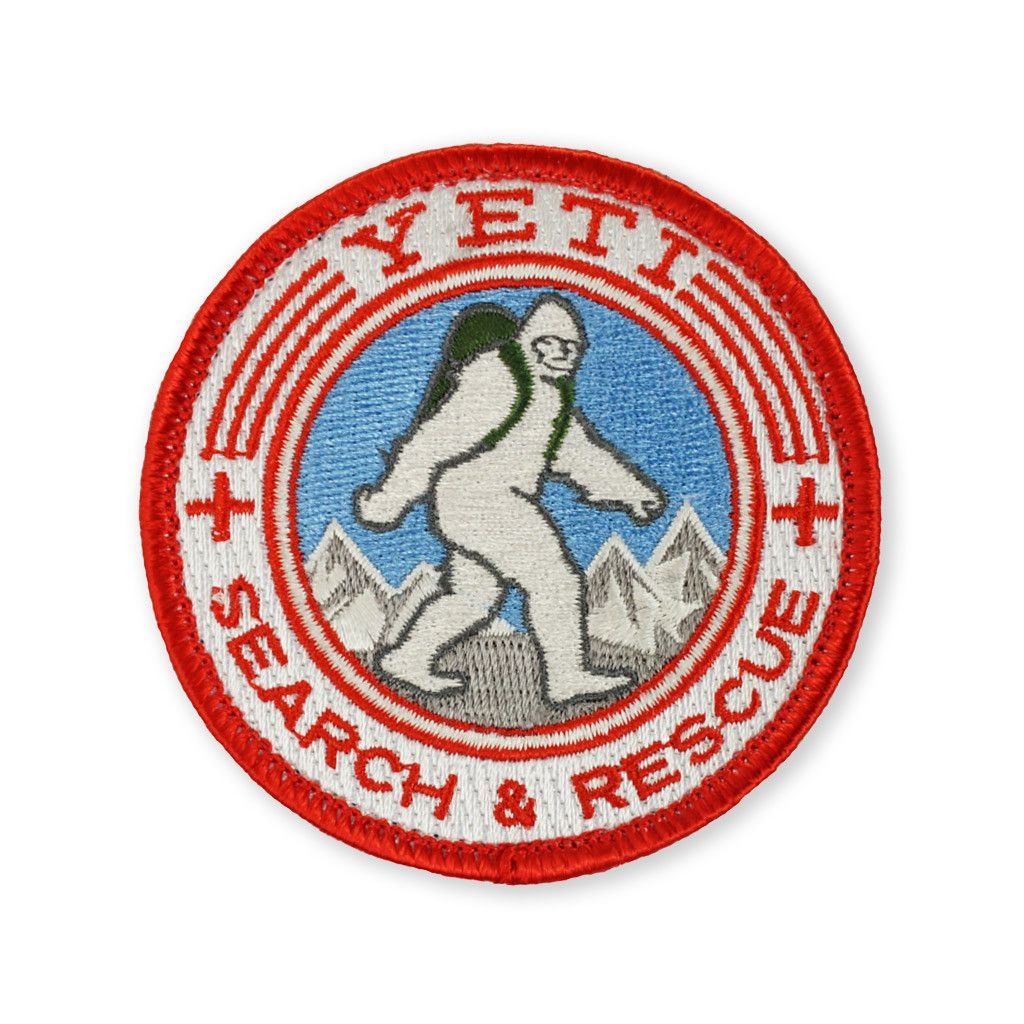 Yeti Search And Rescue Morale Patch