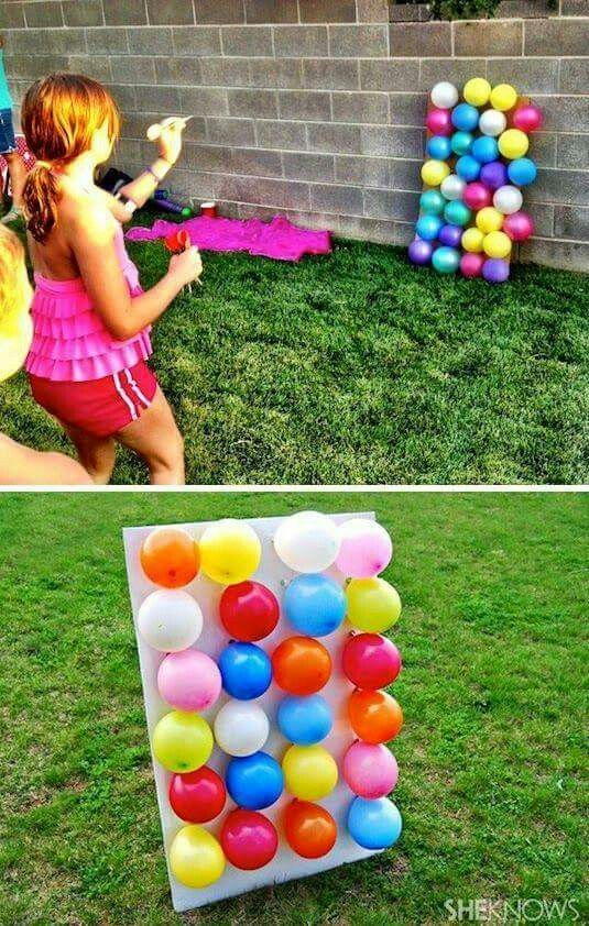 Dart The Balloon Game Backyard Party Games Outdoor Games For