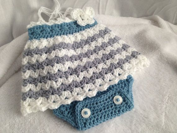 Crochet Pattern Baby Romper Crochet Baby Dress Easy Crochet Baby