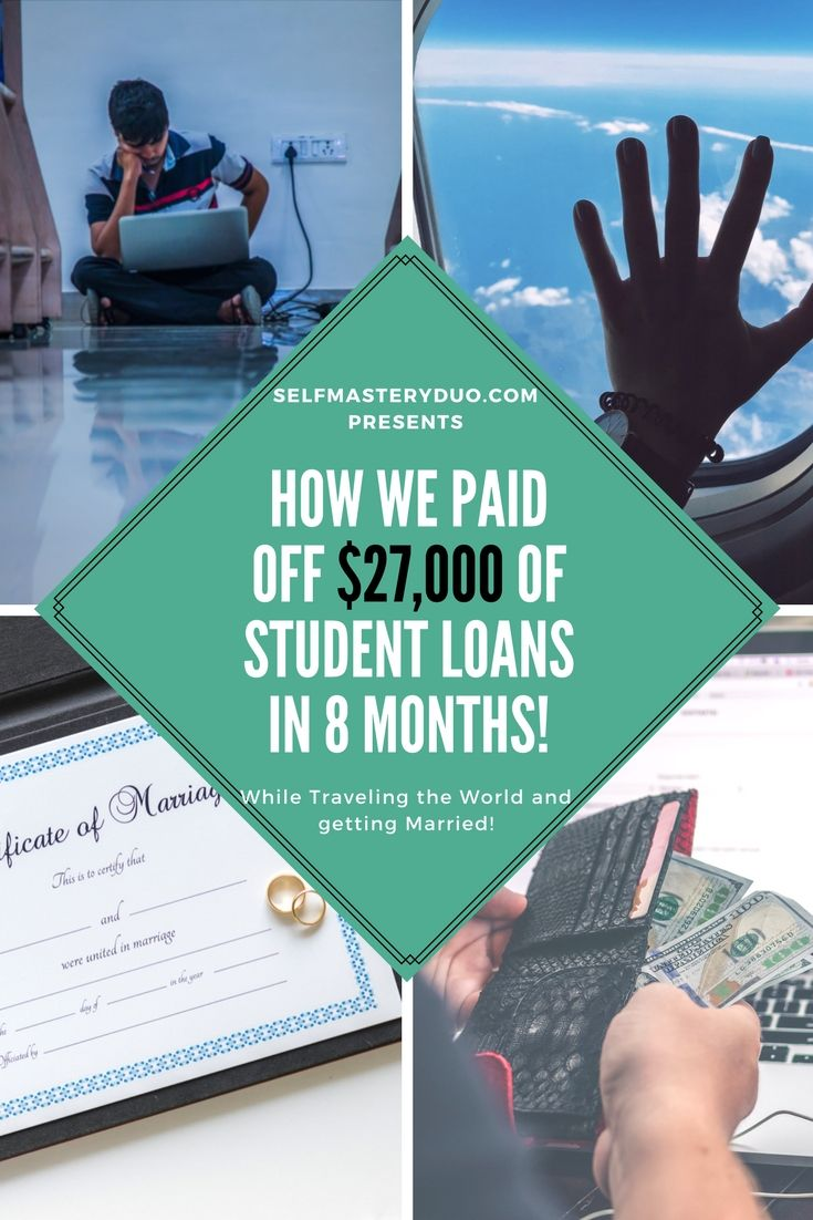 Debt free how we paid off a 27000 student loan in 8