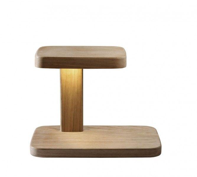 Piani Table Lamp Flos Led Wooden