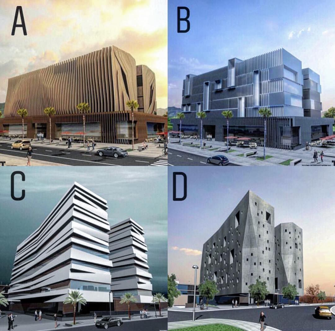 "Art & Architecture On Instagram: ""A,B,C Or D ? All Of Them"