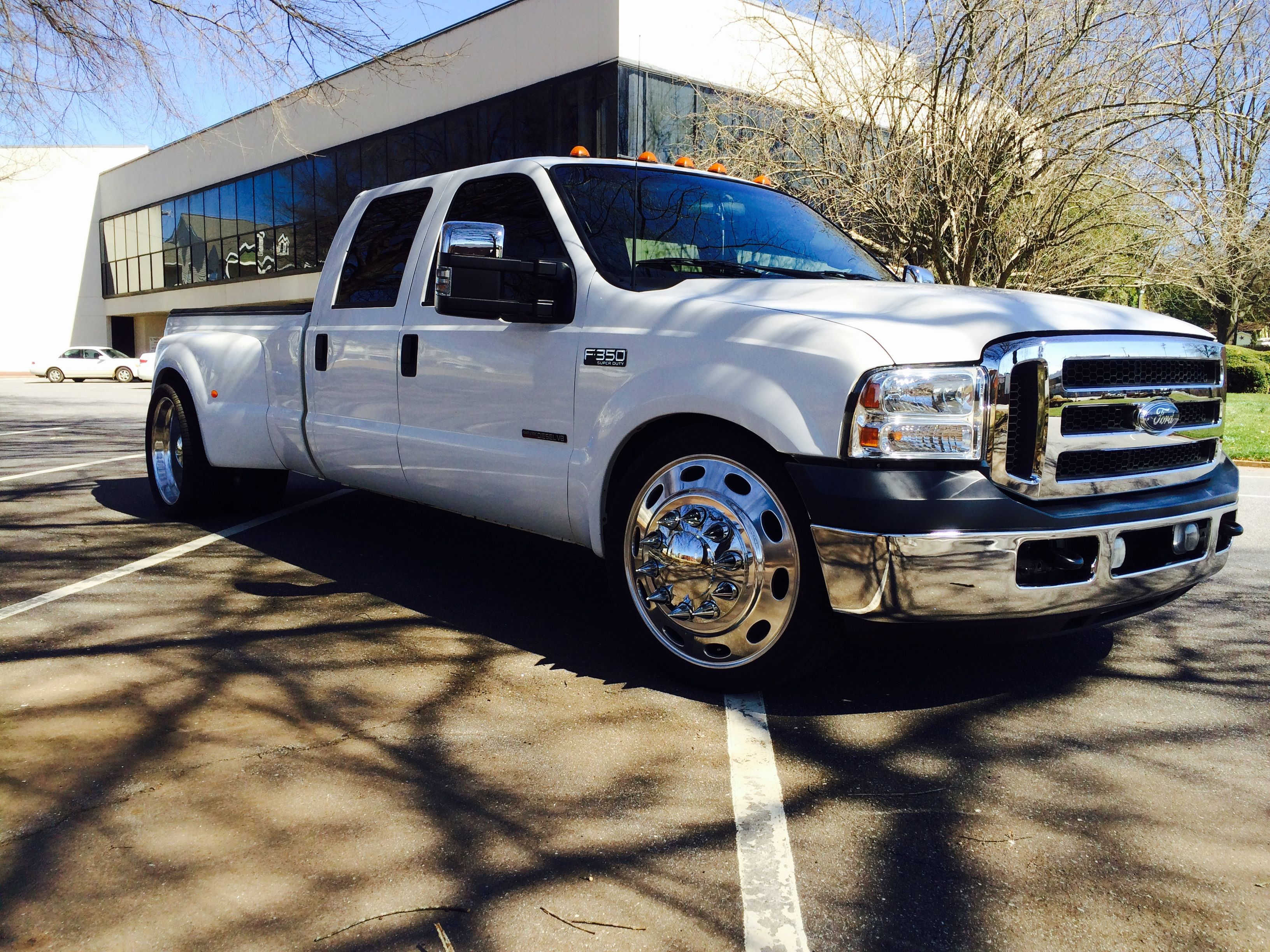 Pin by Chip Sims on F350 custom | Dually trucks, Ford f