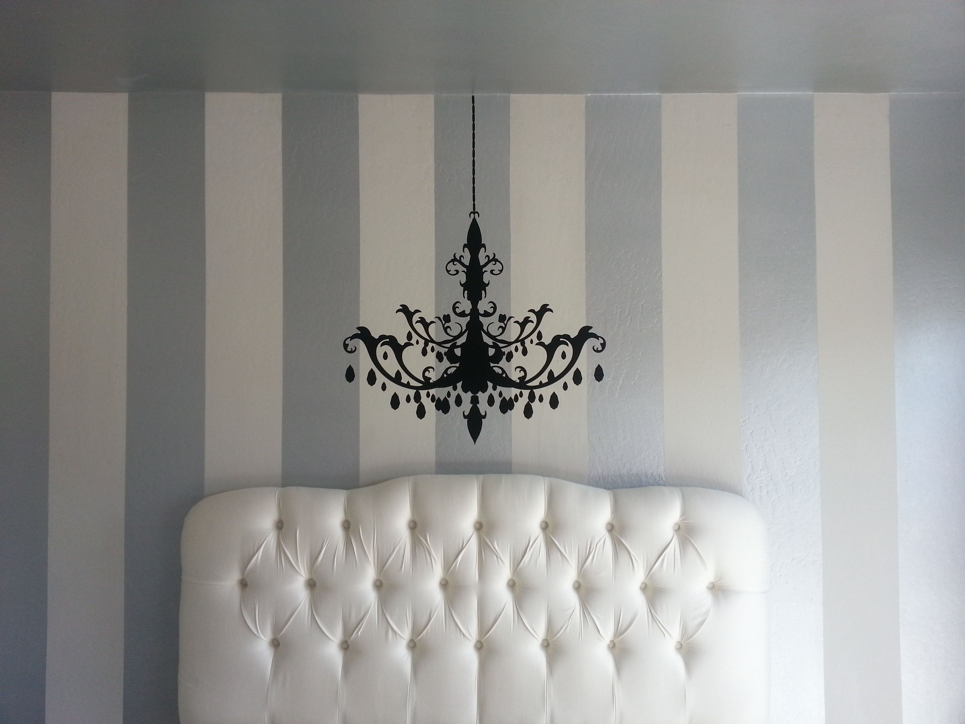 On The Wall Painting Diy Interior Painting Vertical Stripes Make Ceilings Look Higher