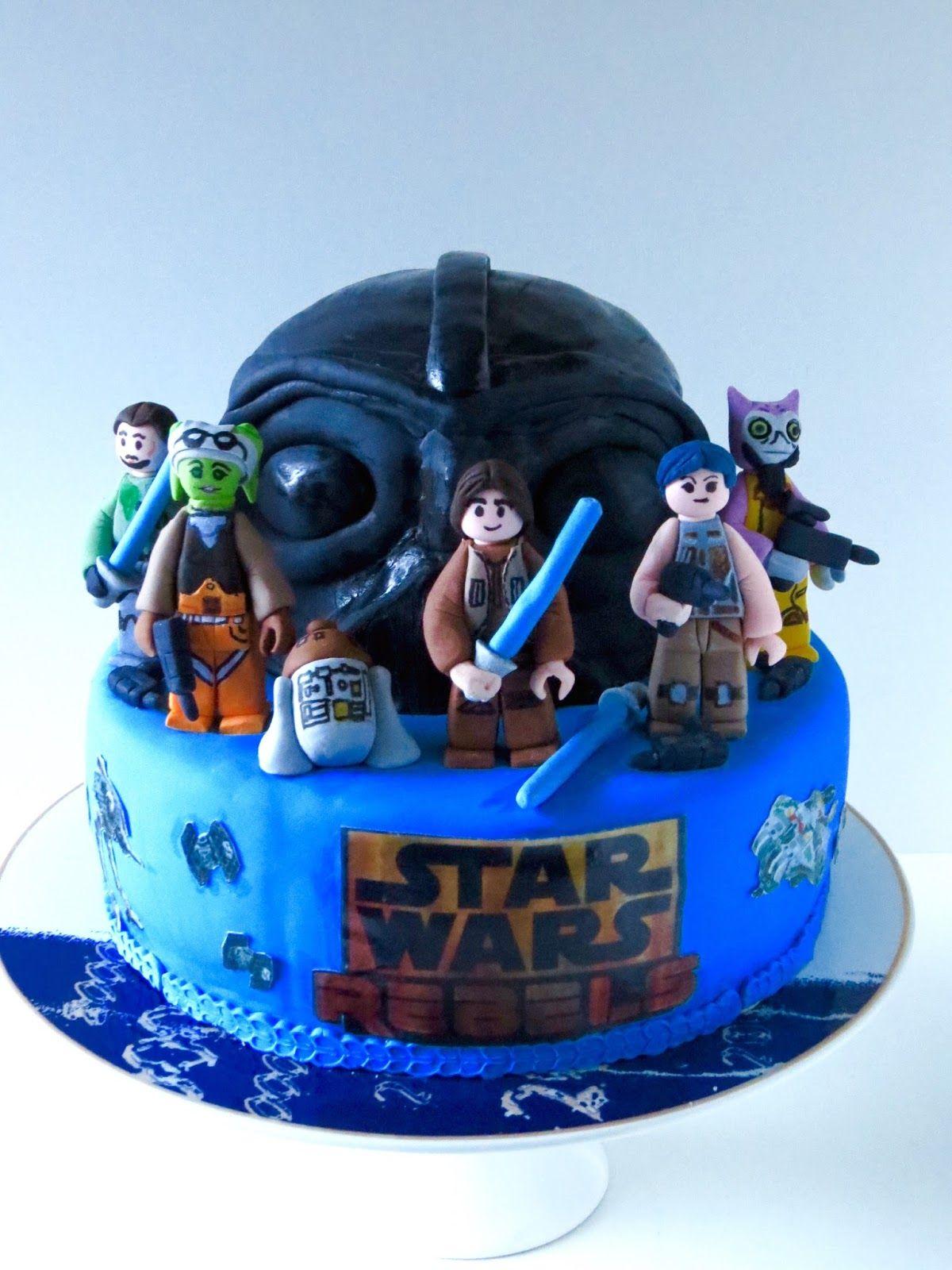 Lego Star Wars Rebels Cake Carter Party Ideas Pinterest Cake